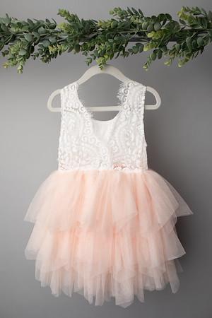 Soft Pink Angela Dress (size 4t) BACK