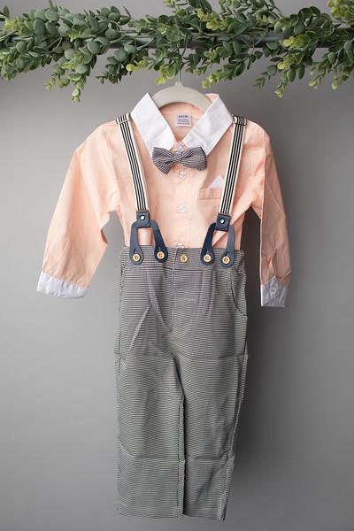 Boys Gentleman Suit  (size 12 Months) FRONT