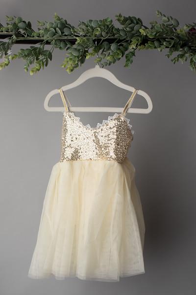 Glitter Tulle Dress (size 12 months)