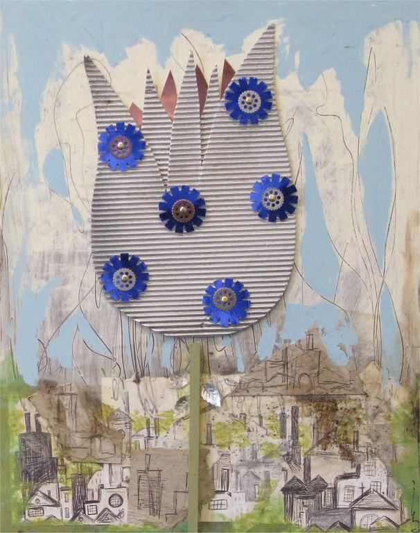 Ginley, Bridget - Cityscape Flower