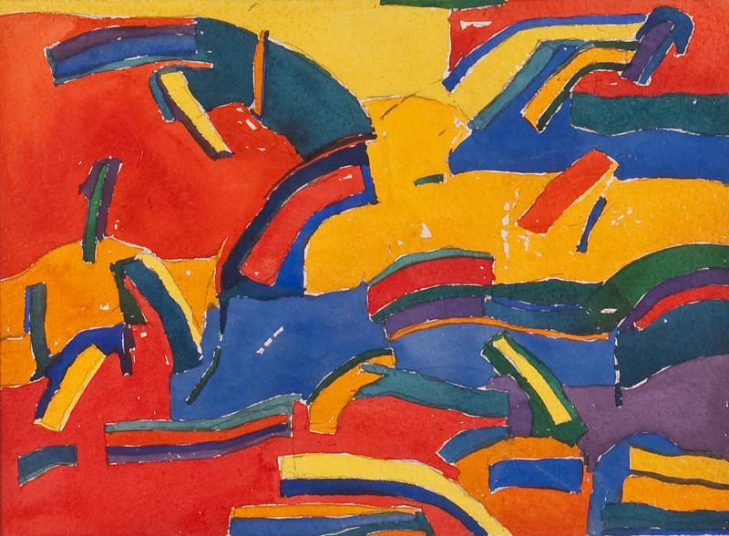 Bennett, Leslie M. - Untitled, 1969