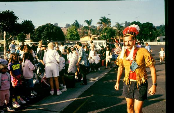 1980's-1990's Indian Village
