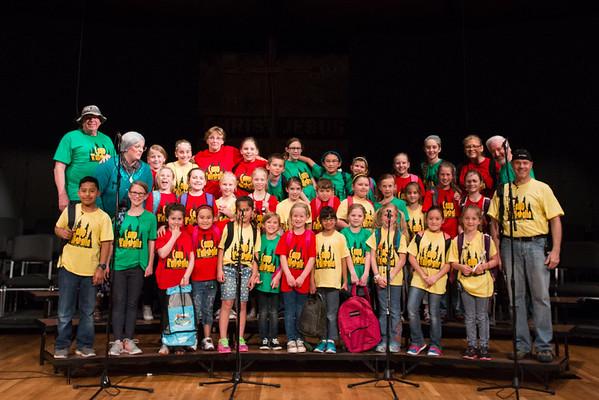 Kingdom Kids Choir Musical 2016: Camp Wallaballa