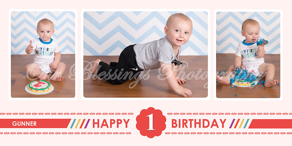 First Bday 20x10