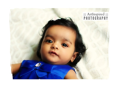 Infant Portrait Session