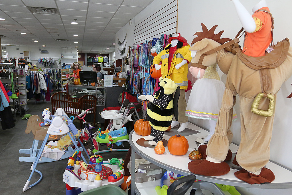 . Children\'s Closet, a consignment store for kids has opened this week on Main Street in Fitchburg. SENTINEL& ENTERPRISE/JOHN LOVE