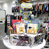 Children's closet, a consignment store for kids has opened this week on Main Street in Fitchburg. Disney's WALL-E looks over some books at the new store. SENTINEL& ENTERPRISE/JOHN LOVE