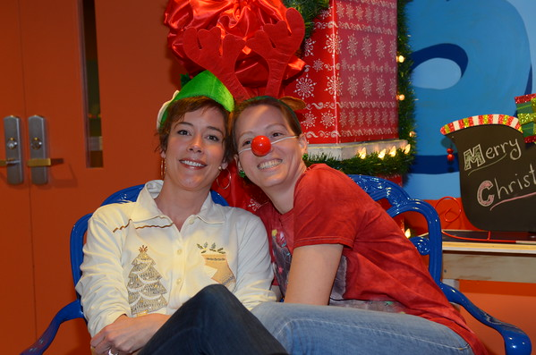 Christmas Sweater Photo Booth 12-07-2014 & 12-14-2014