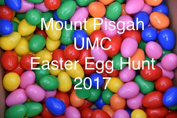 Easter Egg Hunt 2017 Mount Pisgah UMC