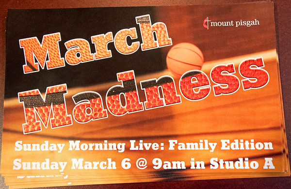 Mount Pisgah 03-06-2016 Childrens Ministry March Madness