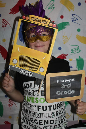 Back to School Silly Photo's - August 19, 2018