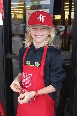 Salvation Army Red Kettle Bell Ringers - November 11, 2017
