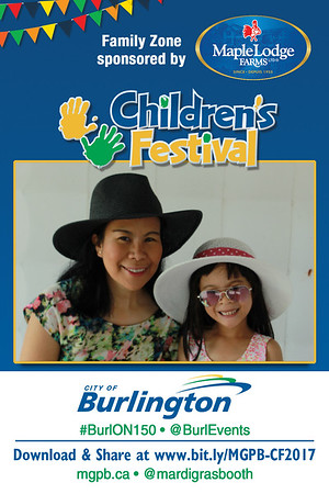 Photo Postcards from City of Burlington Children's Festival 2017