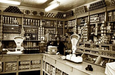 Santiago, Chile, 1967 - Neighborhood Store Lady