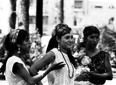 Santiago, Chile, 1967 - Downtown Gypsies