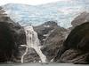 Glacial waterfall