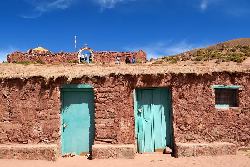 The village of Machuca in the Atacama Desert