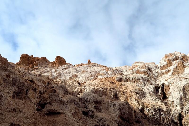 The salt caves in the Atacama Desert