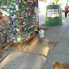 Garbage along Ave. Alemania, Valparaiso