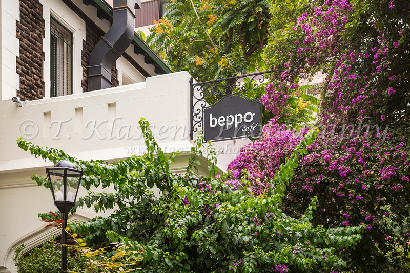 The Beppo Cafe in Santiago, Chile, South America.