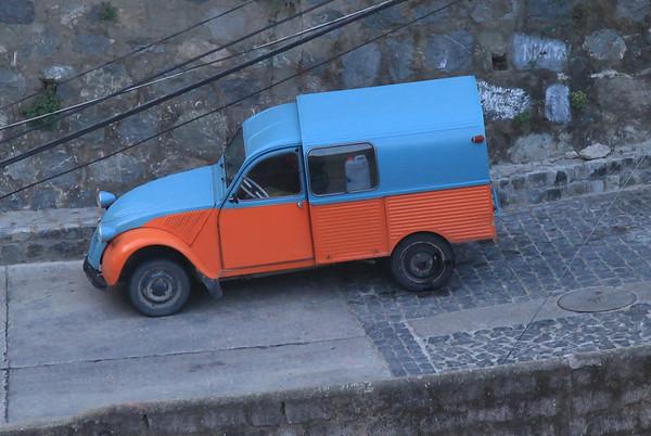 Kolorowy samochodzik