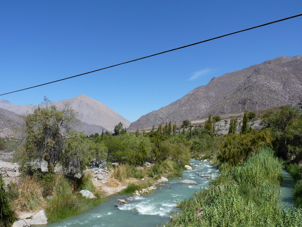 Elqui valley, looking for ducks.  We didn´t find any.