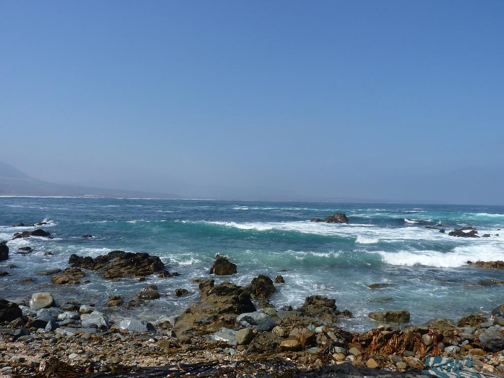 Beautiful Chilean coast