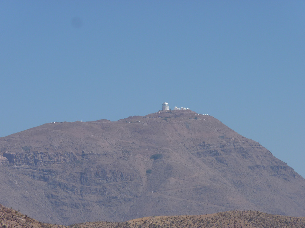Andean desert!  Complete with observatories!!!