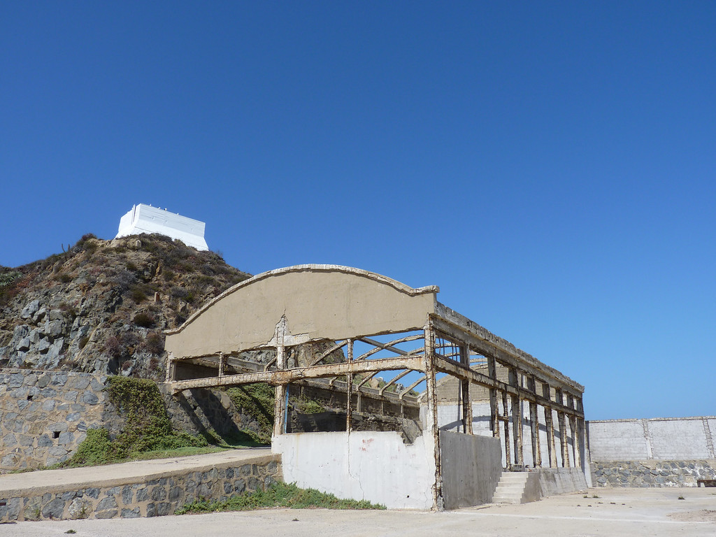 Old whale hunting and processing center in Quintay