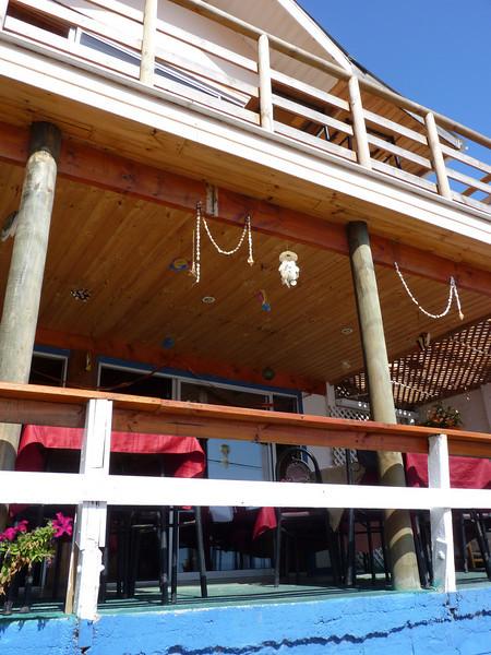 Restaurant in Quintay.