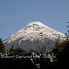 "Osorno volcano seen through ""la ventana"""
