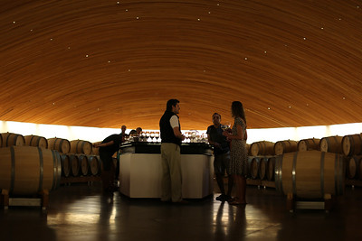 Tasting Room, La bodega Lapostolle Wines, Apalta Region, Valle Colchagua, Santa Cruz, Chile