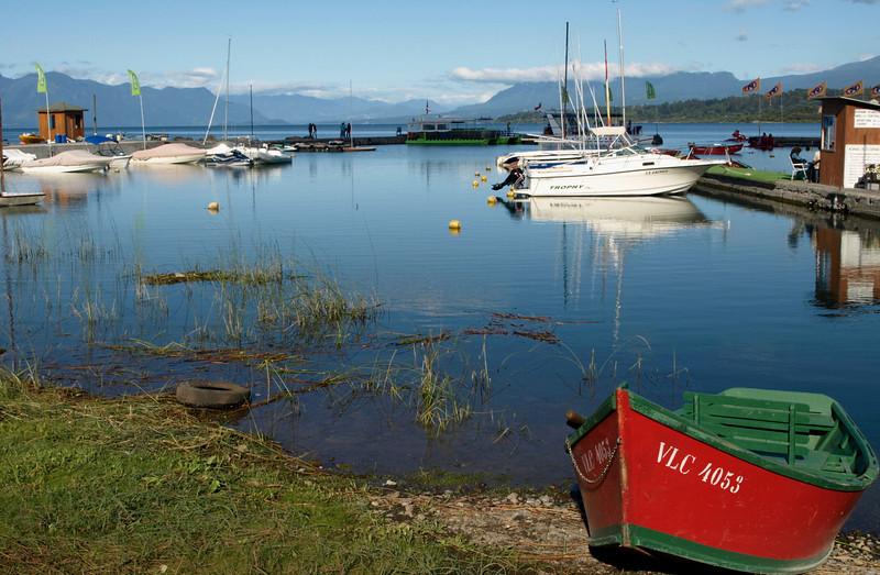 Villarrica ~ one of the marinas