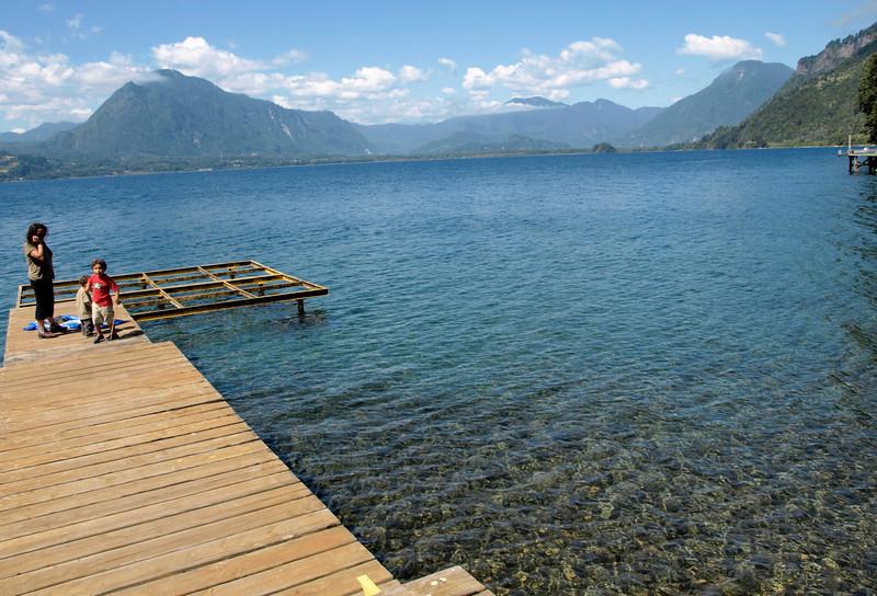 Panguipulli area ~ gorgeous lake, crystal water