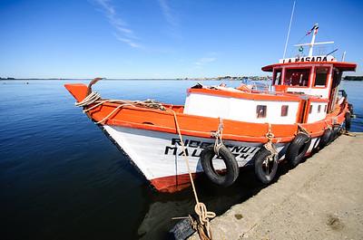 Boat on the Maullin River