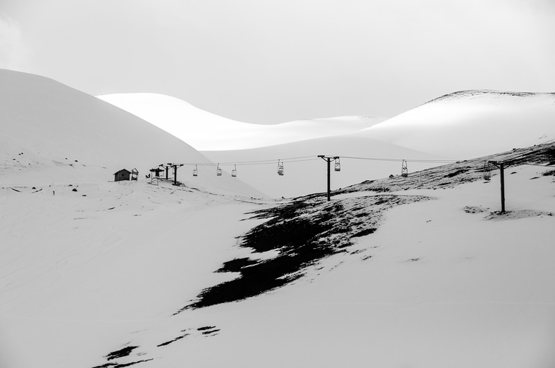 Casablanca ski resort in Chile