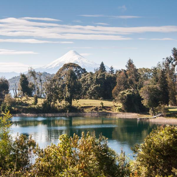Osorno volcano and Lago Llanquihue