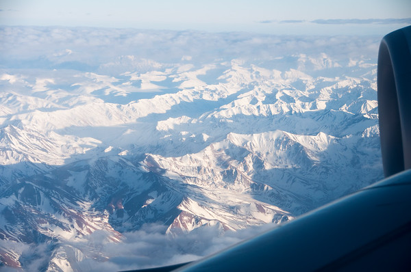 Snow-capped Andes