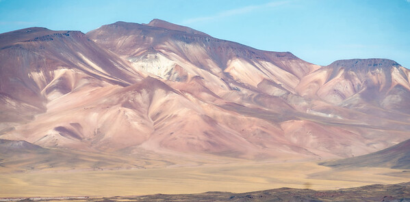 Hills around Salar Aquas Calientes