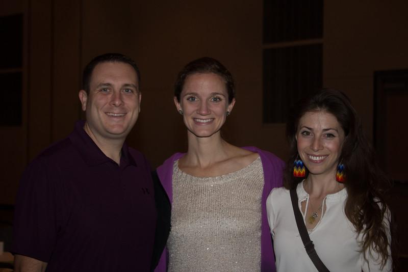 Paul Kilgus, Sarah Kilgus, Lucy Kagan
