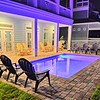 Private heated pool just out your french doors, has tanning shelf