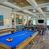 Shuffleboard and pool tables for quality time with family & friends