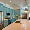 9X5 kitchen island, all the gadgets, even spices are provided