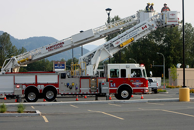 Abbotsford & Chilliwack Fire Trucks Support