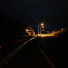 The street lights on Tesuque exit of north bound 285 have few lights still working on Wednesday, March 28, 2018.Most pilgrims who are walking through here at night have to do so in the dark. Luis Sanchez Saturno/The New Mexican