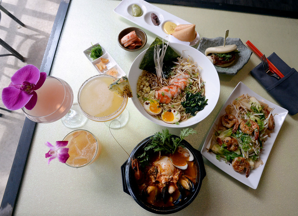 . Duck bao, lobster ramen, chow fun, seafood soon dobu, and fortune cookie dessert, a drinks, and more at Chimera, a new restaurant at 2014 10th Street in Boulder. Cliff Grassmick  Photographer  May 30,  2018