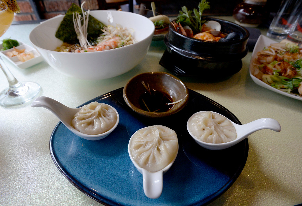 . Soup dumplings at Chimera, a new restaurant at 2014 10th Street in Boulder. Cliff Grassmick  Photographer  May 30,  2018