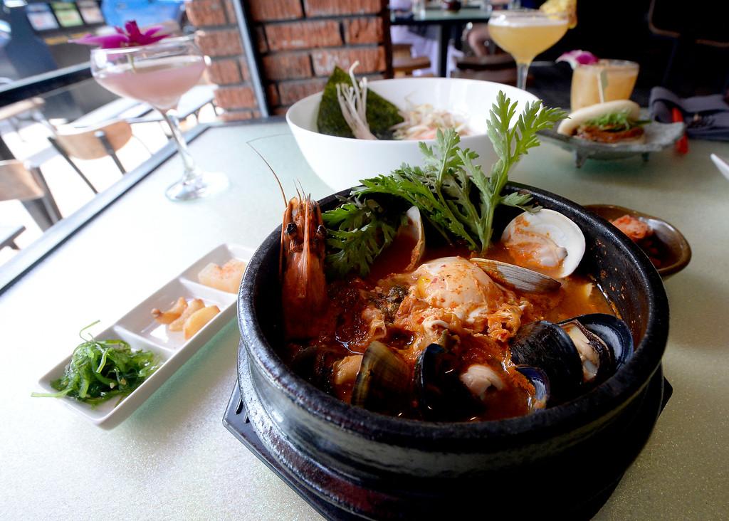 . Sea food soon dobu at Chimera, a new restaurant at 2014 10th Street in Boulder. Cliff Grassmick  Photographer  May 30,  2018