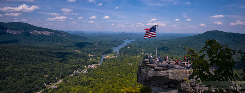 Facebook Sized Cover Photo of Chimney Rock