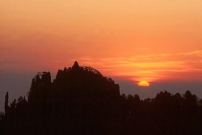 Huangshan sunrise #2, Anhui Province